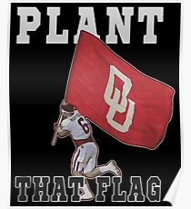 Plant That Flag Poster