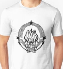 SFRJ Jugoslavija (Yugoslavia) Unisex T-Shirt