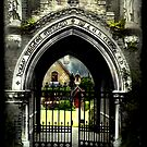 Through the Gates to Holly Village by Artway