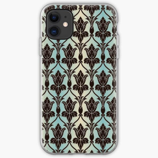 221B Baker St Wallpaper iPhone Soft Case