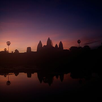 Sunrise of Angkor Wat, Cambodia by ccchan27