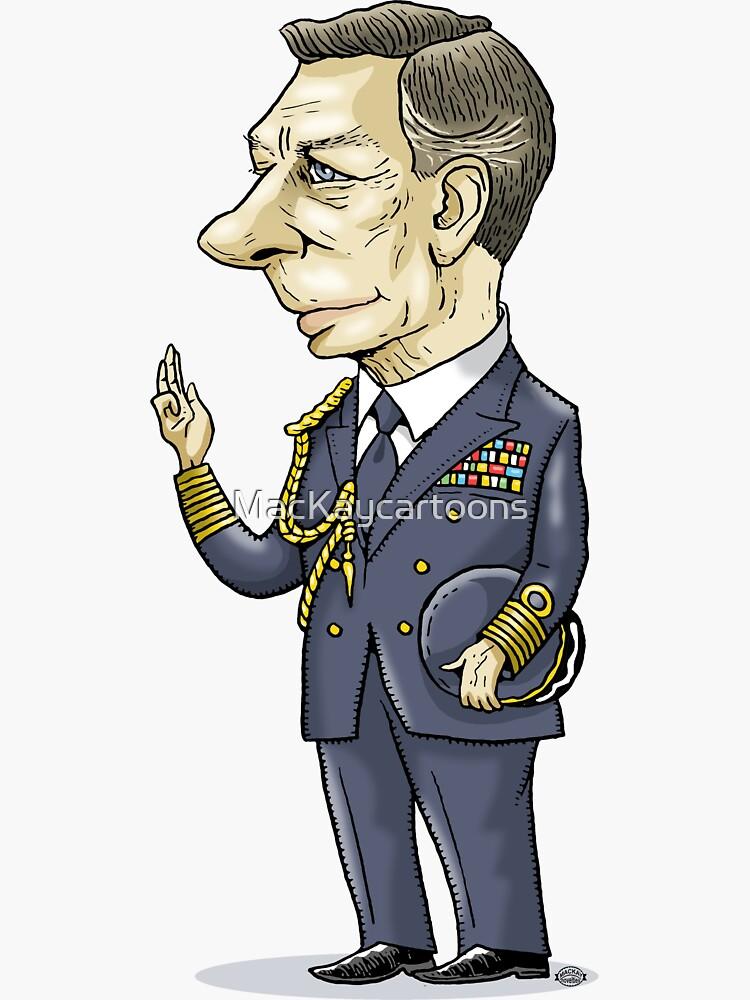 King George VI by MacKaycartoons