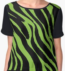 Colorful Animal Skin 3 Chiffon Top