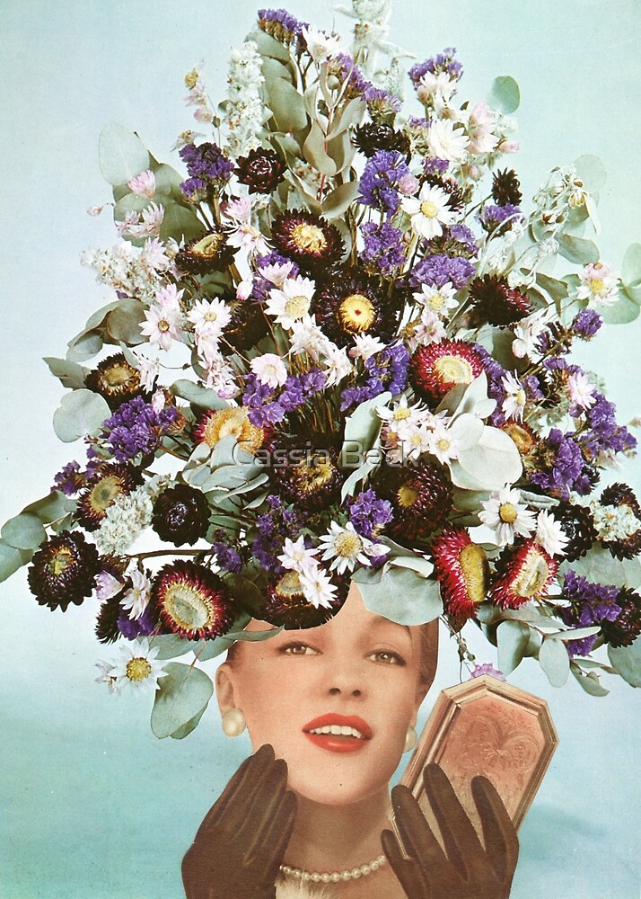 Floral Fashions III by Cassia Beck