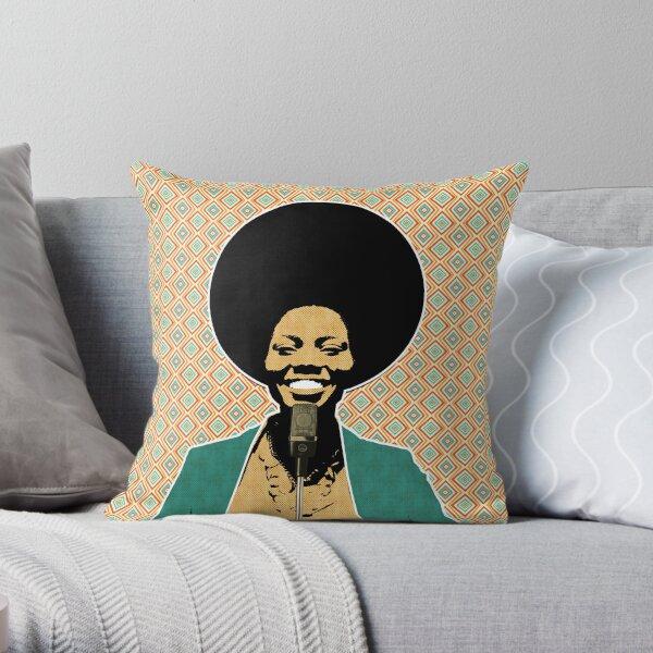 The Soul Diva Throw Pillow