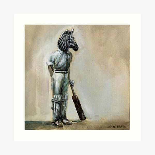 'Anyone for Cricket?' Art Print