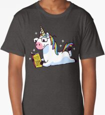 Unicorn Believe in Yourself Magically Fabulous II Long T-Shirt