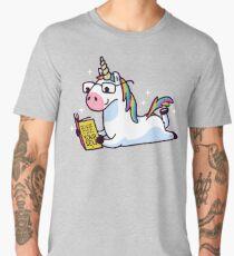 Unicorn Believe in Yourself Magically Fabulous II Men's Premium T-Shirt