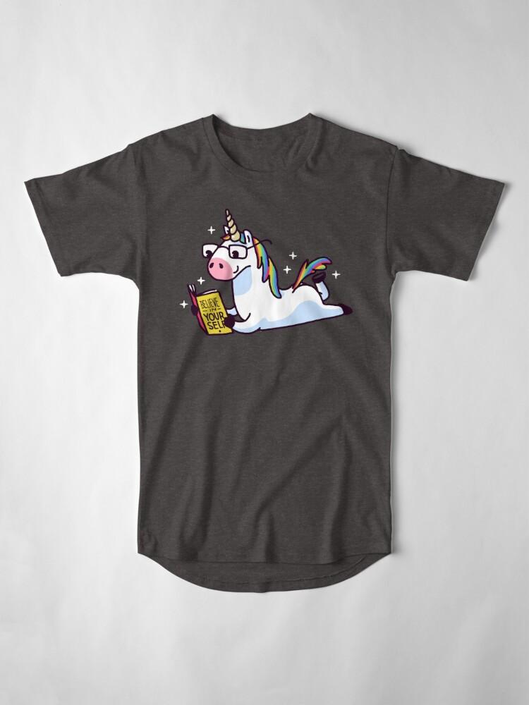 Alternative Ansicht von Einhorn glauben an sich magisch fabelhaft II Longshirt