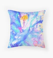 Under the sea magic Throw Pillow