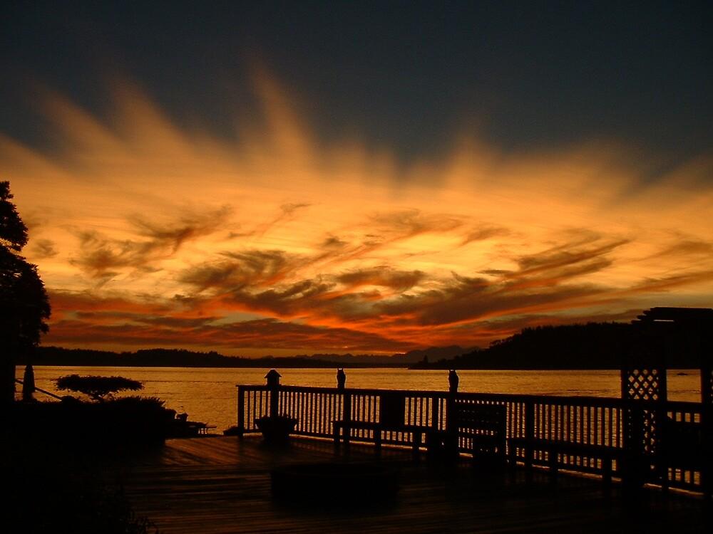 DAY ISLAND SUNSET  by MsLiz