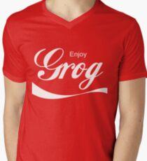 Grog Men's V-Neck T-Shirt