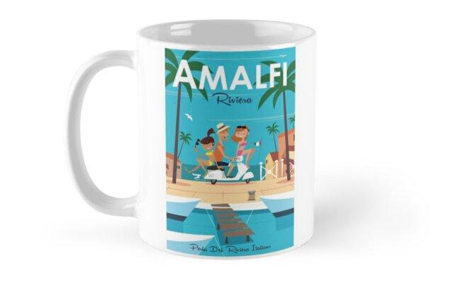 Amalfi poster by Gary Godel