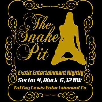 The snake pit by edcarj82