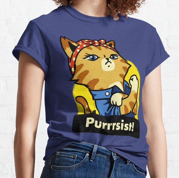 Purrsist! (version 3) Classic T-Shirt