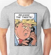 Donald Trump Pop Art: Release the Tweets! T-Shirt