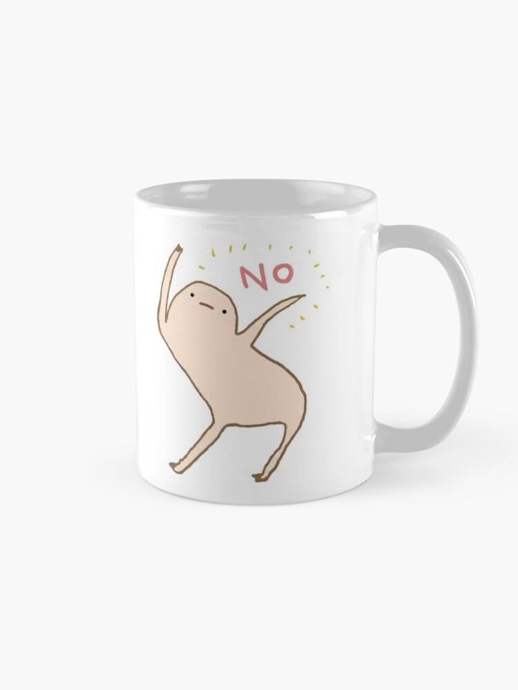 Alternate view of Honest Blob Says No Mug