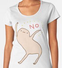 Ehrlicher Blob sagt Nein Frauen Premium T-Shirts