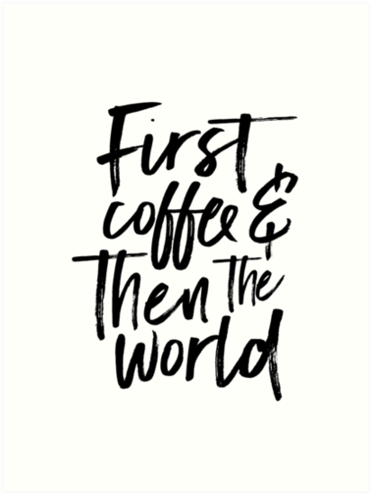 kitchen wall art,coffee sign,inspirational quote,coffee kitchen