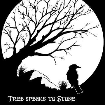 Tree Speaks to Stone.... by wu-wei