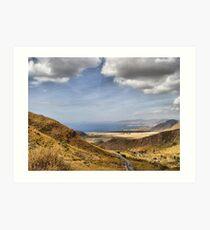 Road to Puerto de Mazarron Art Print