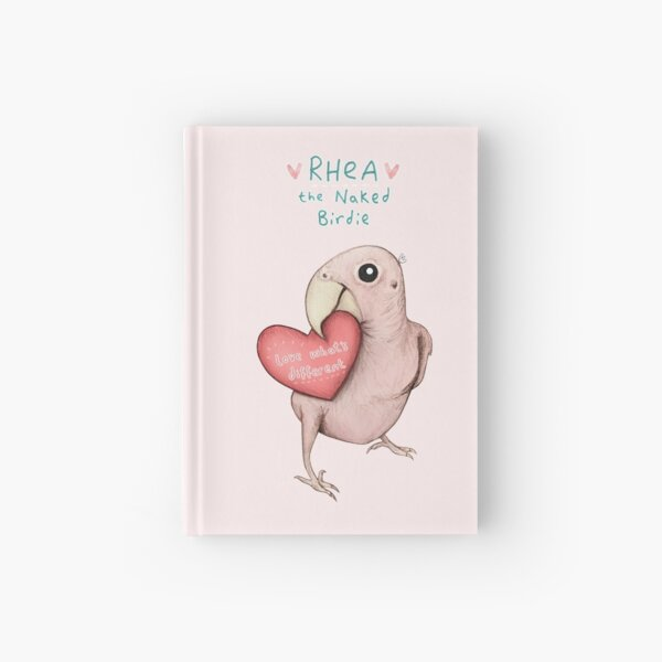 Rhea - Love What's Different Hardcover Journal
