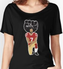 Colin Kaepernick Kneeling - I'm With Kap Women's Relaxed Fit T-Shirt