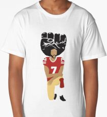 Colin Kaepernick Kneeling - I'm With Kap Long T-Shirt