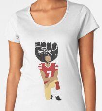 Colin Kaepernick Kneeling - I'm With Kap Women's Premium T-Shirt
