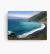 California's blues Canvas Print