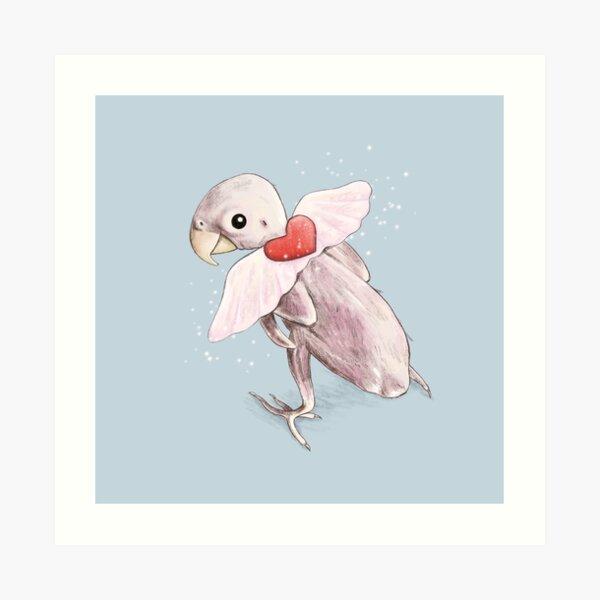 Rhea - Flying Free Art Print