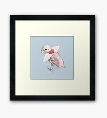 Rhea - Flying Free Framed Print