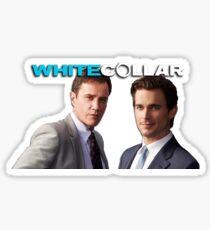 white collar - neal & peter Sticker