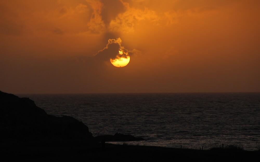 Sunset Achmelvich Beach by photobymdavey