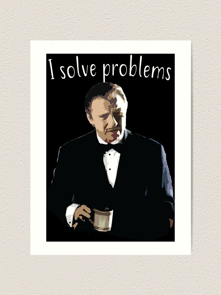 Alternate view of Problem solving Art Print