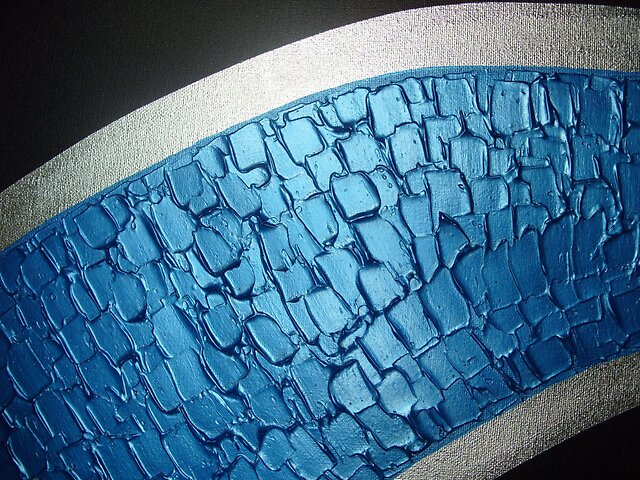 Blue swirl by minimalmagic