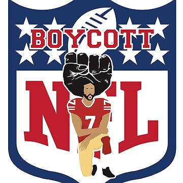 #BoycottNFL Colin Kaepernick Kneeling - I'm With Kap by FranciscoDoerr