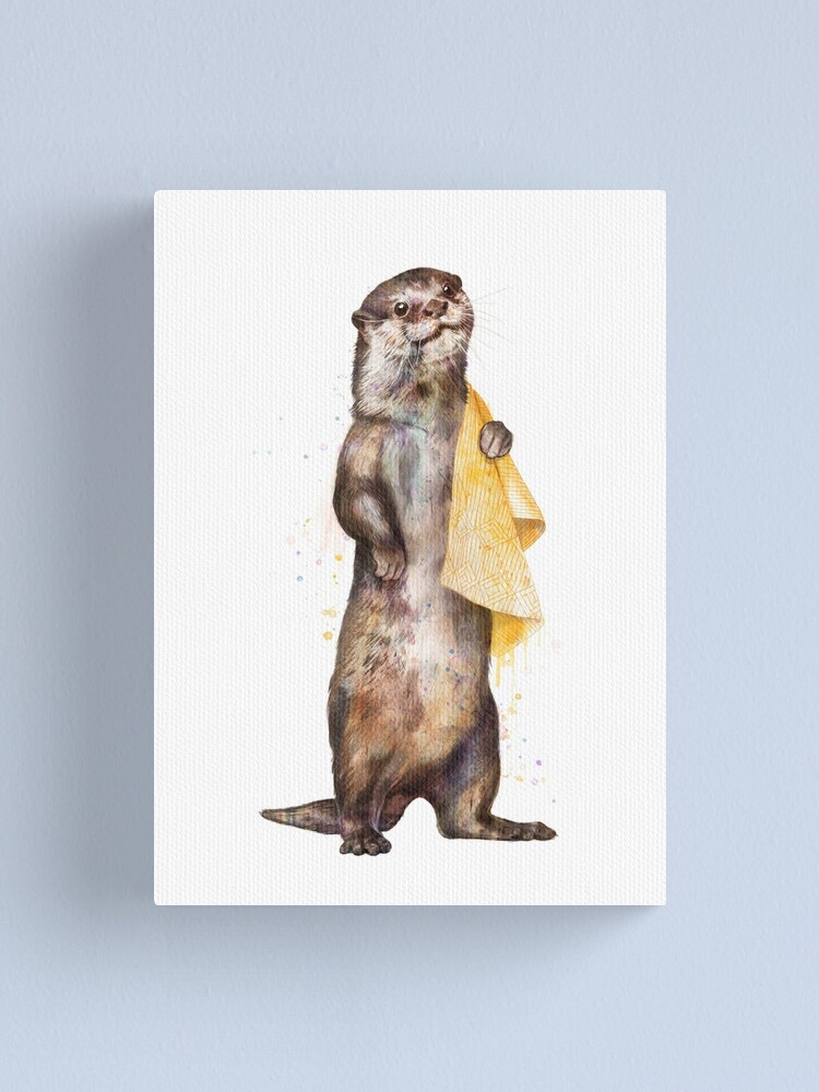 Alternate view of Otter Canvas Print