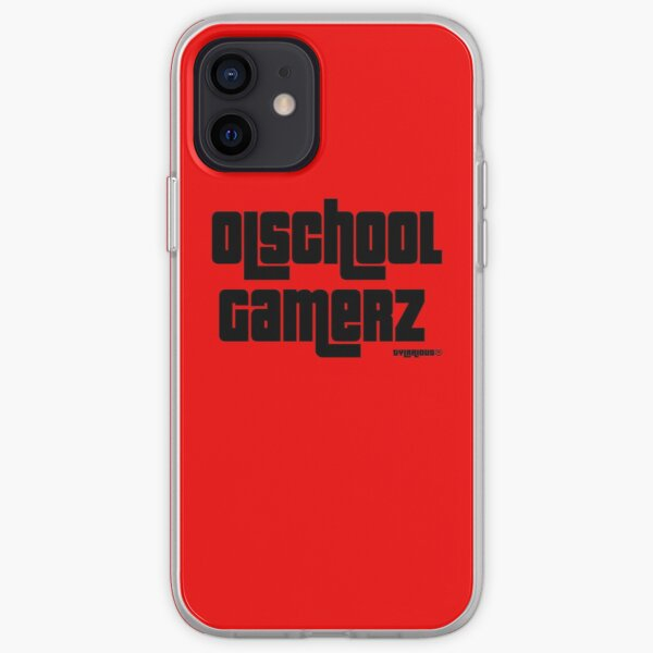 Olschool gamerz Black iPhone Soft Case