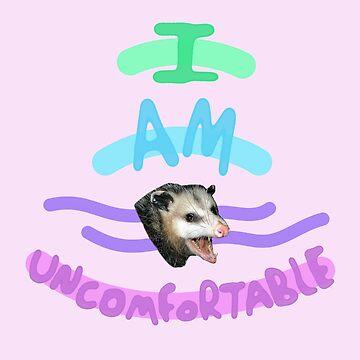 Uncomfortable Possum  by WindmillCo