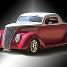 1936 Ford Three-Window Coupe 2 by DaveKoontz