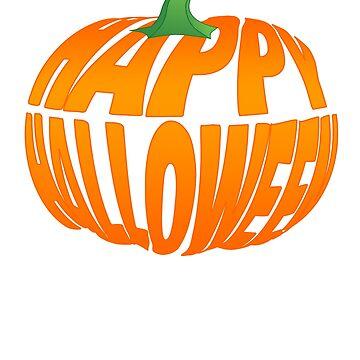Happy Halloween Pumpkin by 3js-unlimited