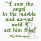 Michalangelo's Angel by Kestrelle