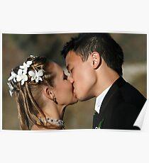 Emerald Beach Wedding - KISS Poster