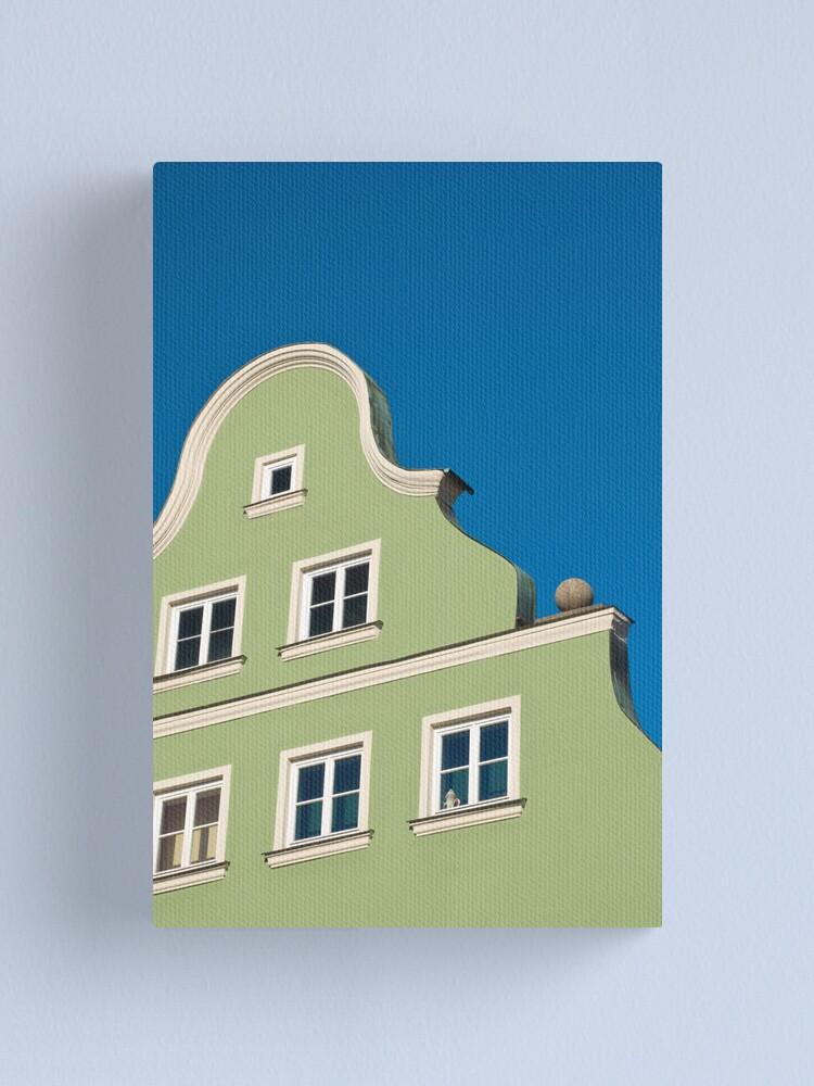 Alternate view of Germany. Bavaria. Landshut. (Alan Copson © 2008) Canvas Print