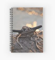 Sunset on the Dock Spiral Notebook