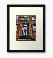Heigold House Facade Framed Print