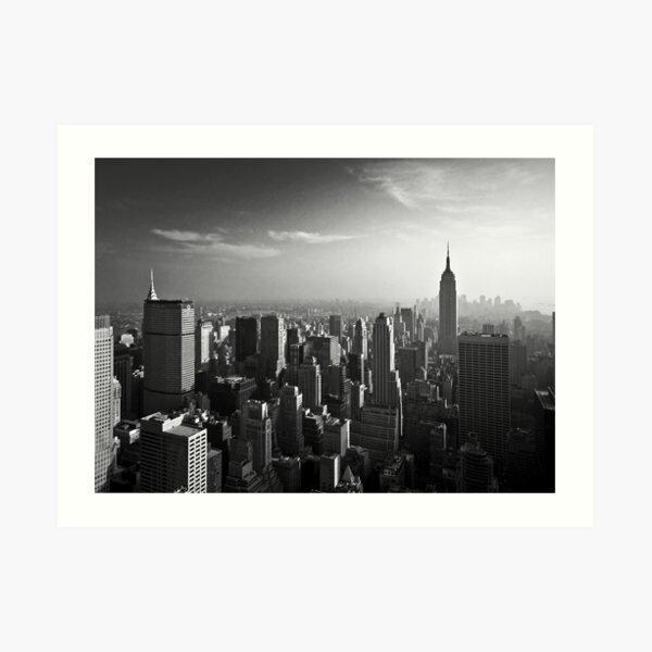 Manhattan Skyline with Empire State Building (Alan Copson ©) Art Print