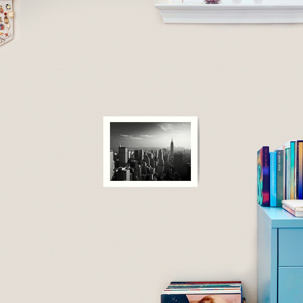 Manhattan Skyline with Empire State Building (Alan Copson ©) Art Print