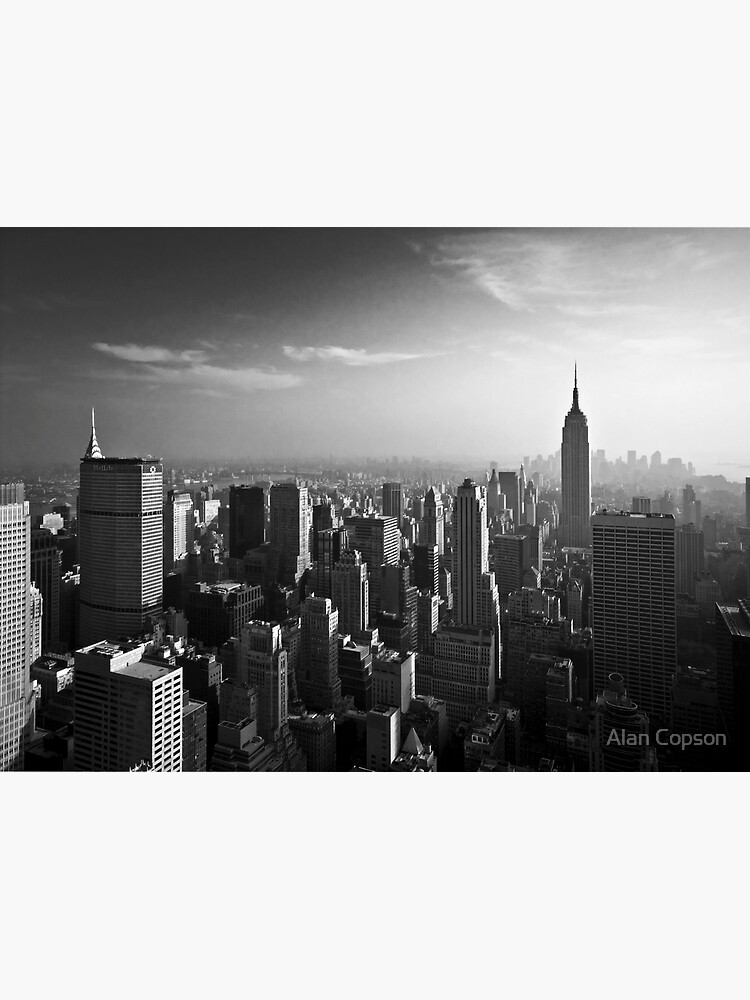 Manhattan Skyline with Empire State Building (Alan Copson ©) by AlanCopson